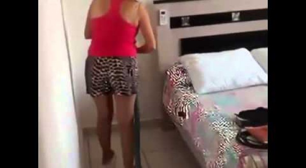 Meet The Worst Cleaning Lady In The World (video)