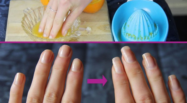This simple DIY promises longer and healthier nails!