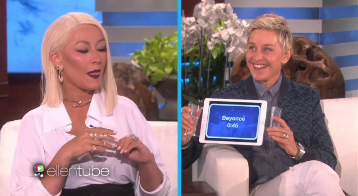 Chistina Aguilera's impressions of other celebrities are spot on!