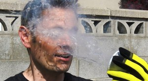 He poured liquid nitrogen on his face. This is what happened next …