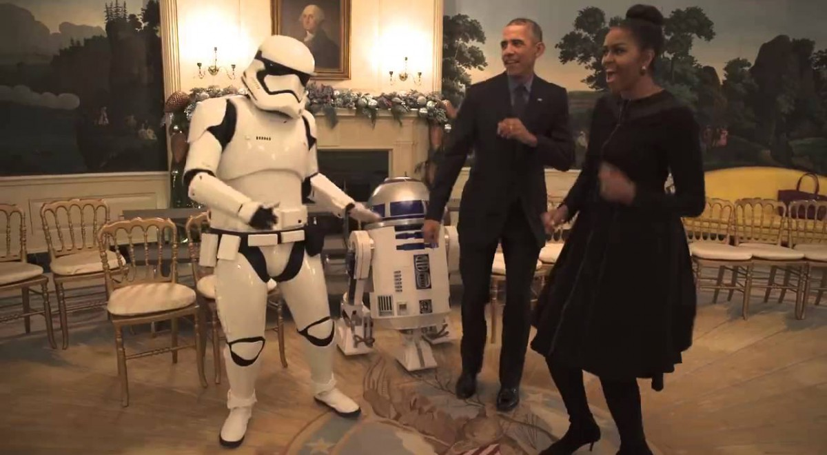 The Obamas Got Some Serious Moves!