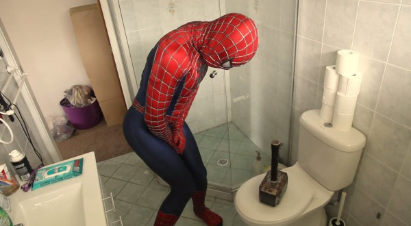 This Is Why Spiderman And Thor Should Never Be Roommates (video)