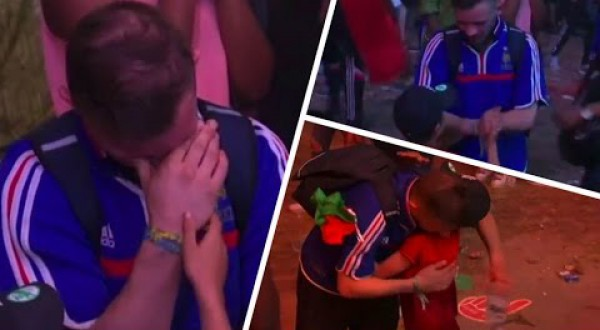 This was the most touching moment of the Euro 2016 final