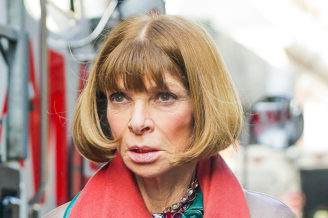 This Is How Editor-in-Chief Of Vogue Anna Wintour Looks